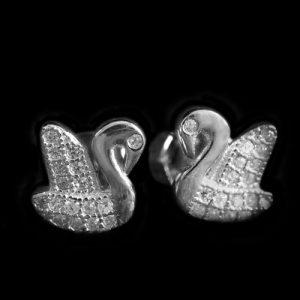 Лебеди обици 1