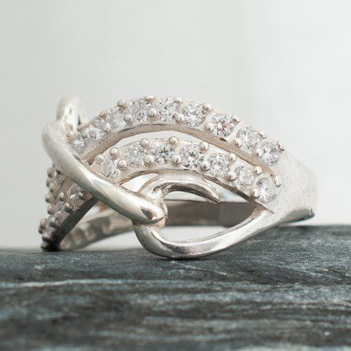 пръстен с камъни 1а