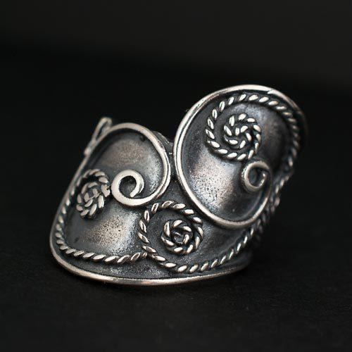 сребърен пръстен ръчна изработка а