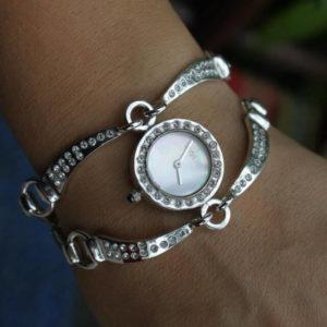 сребърен часовник а