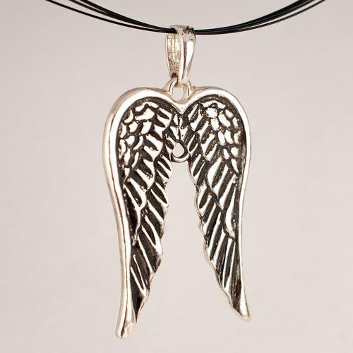 Ангелски крила медальон 2а